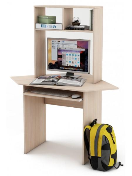 Письменный стол Лайт-К с надстройкой угловой
