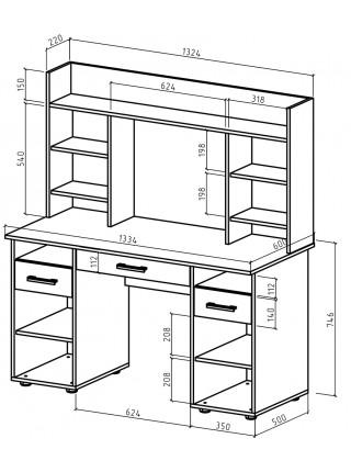 Письменный стол Остин-13Я