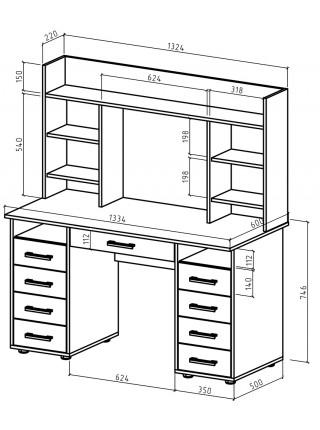 Письменный стол Остин-14Я