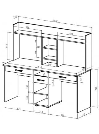 Письменный стол Остин-15Я