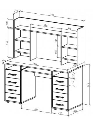 Письменный стол Остин-14
