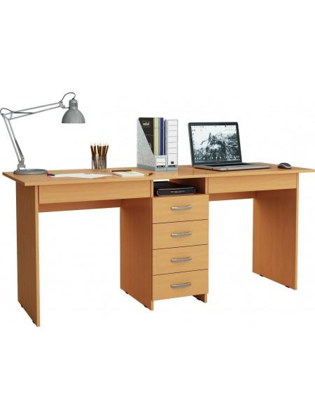 Письменный стол для двоих Тандем-2Я