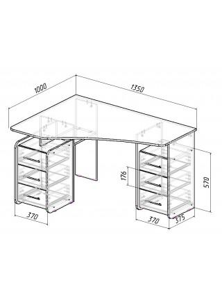 Письменный стол Триан-6