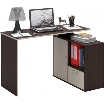 Угловой компьютерный стол Слим-4 правый