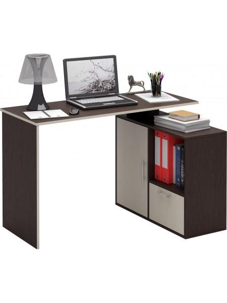 Угловой письменный стол Слим-4 правый