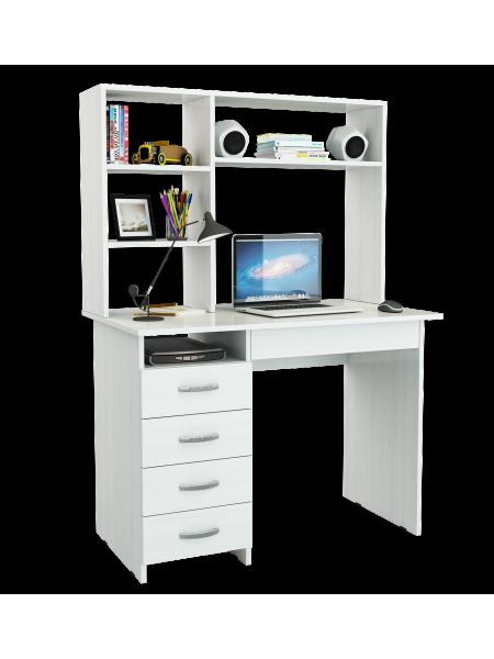 Компьютерный стол Милан-1 с надставкой