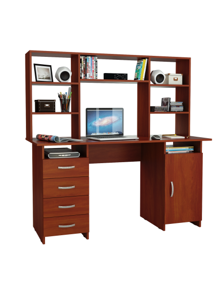 Письменный стол Милан-7 с надставкой