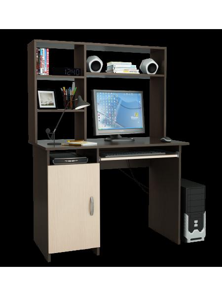 Письменный стол Милан-8П с надставкой